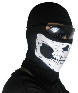 Call Of Duty 6 Modern Warfare 2 Ghost Skull Mask