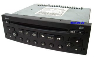 PEUGEOT / CITROEN CLARION RD3 01 RDS RADIO CD PLAYER
