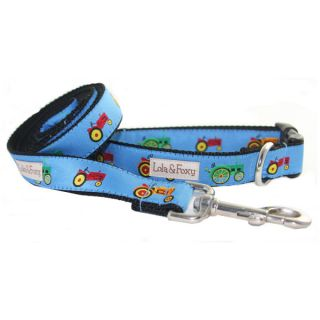 Lola & Foxy Nylon Dog Collars   Tractor	   Collars   Collars, Harnesses & Leashes