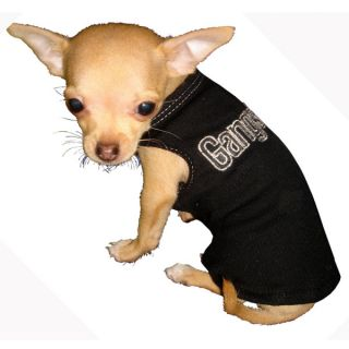 Hip Doggie Gangster Tank Top for Dogs	   Clothing & Accessories   Dog