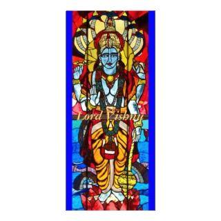 Vishnu and Shiva Bookmarks Custom Rack Card