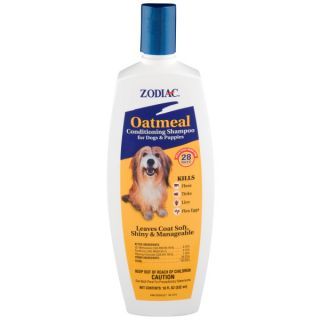 Zodiac Oatmeal Conditioning Shampoo for Dogs & Puppies   Sale   Dog