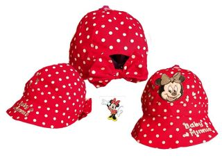 Mädchen Mütze, Gr. 50, Sommerhut Minnie Disney, cute Minnie Hat