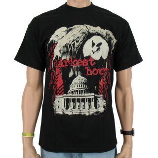 Darkest Hour   Bird of Prey Band T Shirt, black