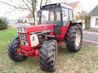 IHC 955 Allrad CASE IH Schlepper Traktor International 1055 844