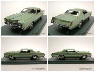 Cadillac Eldorado Coupe 1967 grün Modellauto 143 Neo