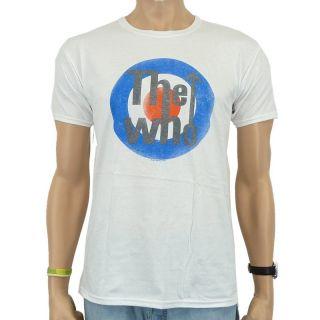The Who   Bullseye Vintage Band T Shirt, white