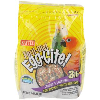 Forti Diet Egg Cite Conure & Lovebird Food   Food   Bird