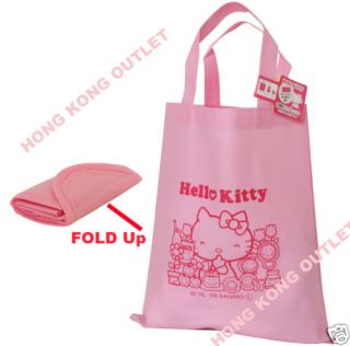 Sanrio Hello Kitty Recycle Shopping Bag Foldable E31a