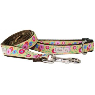 Lola & Foxy Nylon Dog Collars   Meadow	   Collars   Collars, Harnesses & Leashes