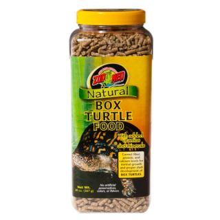 Zoo Med Natural Box Turtle Food   Food   Reptile
