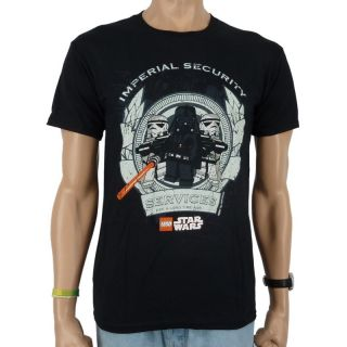 Lego   Star Wars Imperial Security T Shirt, schwarz