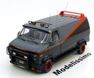 Hot Wheels Elite GMC Classical A Team Van 118