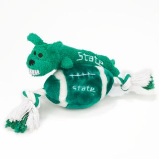Pets First Michigan State Spartans Plush Collegiate Dog Toys   Toys   NCAA