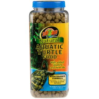 Zoo Med Natural Aquatic Turtle Food Maintenance Formula   Food   Reptile