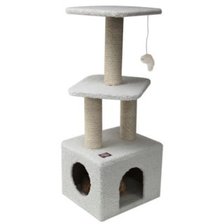 "Majestic Pet Products 40"" Bungalow Cat Tree   Furniture & Towers   Furniture & Scratchers"