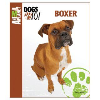 Animal Planet Dogs 101 Boxer   Books  & Videos   Dog