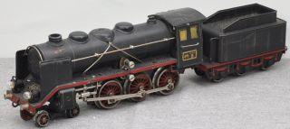 Maerklin GR 66 12920 grosse Dampflok mit 3 achs Tender 2C schwarz 20 V