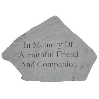 In Memory of A FaithfulMemorial Stone   Pet Memorial   Cat