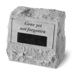 Gone Yet Not ForgottenPersonalized Pet Headstone   Pet Memorial   Cat