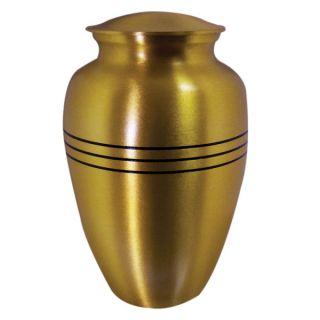 Star Legacy's Brushed Brass Pet Urn   Pet Memorial   Cat
