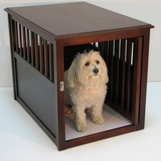 Wood Dog Crate » Crown Pet Products Eco Friendly Wood Dog Crate