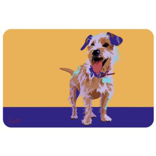 Bungalow Printed Terrier Pet Mat   Gifts for Cat Lovers   Cat