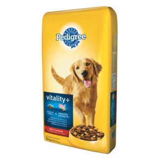 PEDIGREE� VITALITY+™ with IMMUNITY BOOST Dog Food    Dry Food   Food