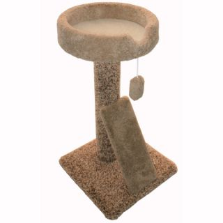 "Majestic Pet Products 30"" Kitty Cat Scratch Perch Cat Tree   Furniture & Towers   Furniture & Scratchers"