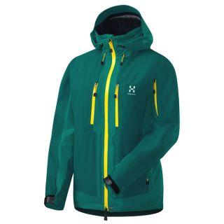 Haglöfs Damen Skijacke Schneejacke Utvak Q Jacket kolibri blau grün