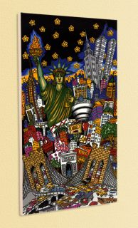 CHARLES FAZZINO POPART RUBBERNECKING NEW YORK PLATTE 7