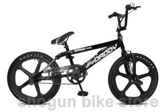 BMX 20 BIKE FAHRRAD FREESTYLE BIG DADDY SKYWAY black