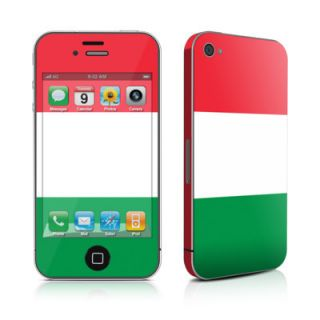 iPhone 4 4S Skin Handy Cover Design Schutzfolie Bumper Sticker Italien