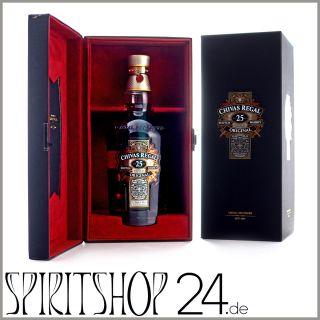Chivas Regal 25 year Blended Scotch Whisky 40 0 7l Flasche mit Box 357