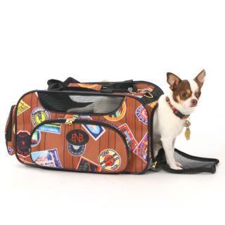 Bark N Bag Old World Traveler Pet Carrier   Summer PETssentials   Dog