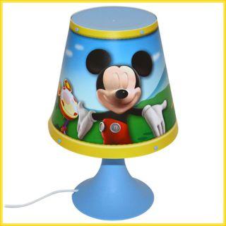 Micky Maus Tischlampe   Kinderlampe   Nachtlampe Tischleuchte Lampe