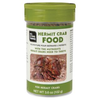 All Living Things™ Hermit Crab Food   Food   Reptile