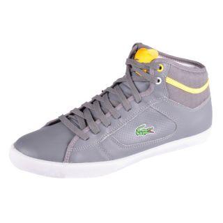 Lacoste Schuhe Camous SA SPM grey grau yellow gelb neu