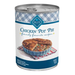 BLUE Family Favorite Chicken Pot Pie Canned Dog Food   Food   Dog