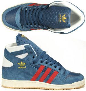 Adidas Schuhe Decade Hi blau blue/red/white Basketball 41,42.5,43,44
