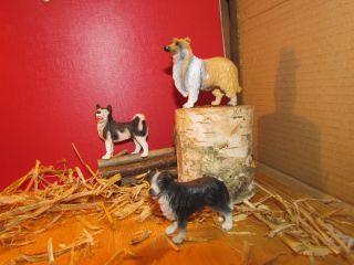 Schleich Hunde Set Sammlerstücke Husky Border Collie Schleich Tier