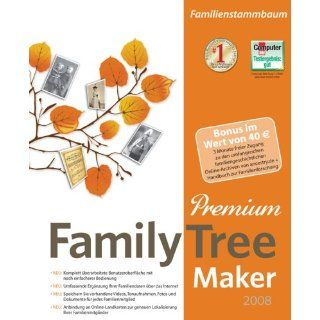 Family Tree Maker 2008 Premium Software