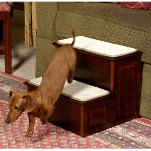 Mr. Herzher's Decorative 2 Step Pet Step   Dog   Boutique