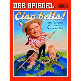 DER SPIEGEL 29/2011 Ciao bella Georg Mascolo, Mathias