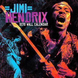 Jimi Hendrix 2012 Wall Calendar Nmr Distribution