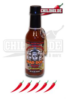 Mad Dog 357 Silver Edition mit 750.000 Scoville Extrem Scharfe Sauce