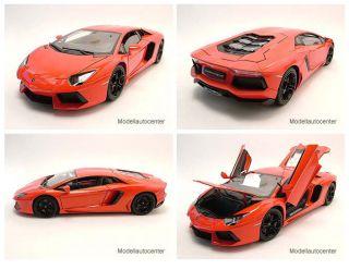Lamborghini Aventador LP700 4 orange metallic, Modellauto 118 / Welly