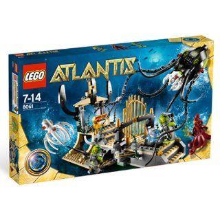 LEGO Atlantis 8061   Tintenfischtor Spielzeug