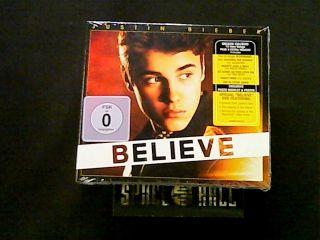 Justin Bieber   Believe   CD + DVD / Deluxe Edition / New