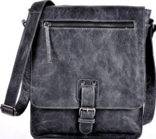 CROSBY & FRIENDS, Unisex Messenger Bag Crossover Leder Tasche